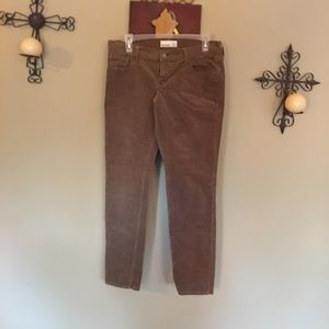 Old Navy Ankle corduroy pants